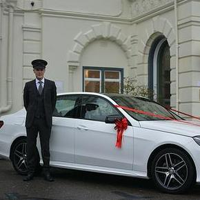 Cedar Chauffeurs Wedding car