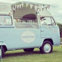 Truly Scrumptious Catering Van - Catering , Cheshire,  Food Van, Cheshire Ice Cream Cart, Cheshire