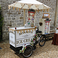 Sevanetti Ice Cream Bikes Ice Cream Cart