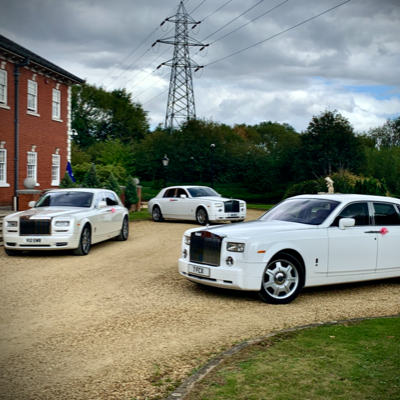 Crystal Chauffeurs Wedding car