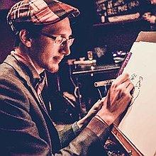 Francesco Caricatures Caricaturist