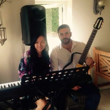 Feeling Good Guitar & Piano Duo Saxophonist