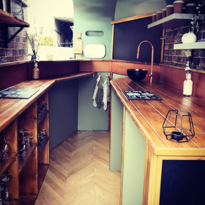 Your Vintage Box Company Mobile Bar