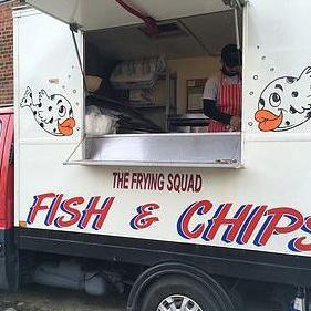 The Frying Squad Bucks Fish and Chip Van