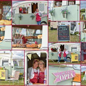 Vintage Doris - cafe caravan Afternoon Tea Catering
