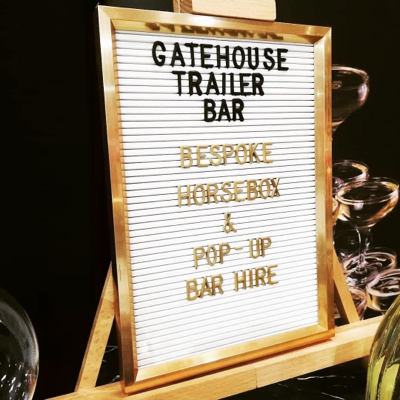 Gatehouse Trailer Bar Mobile Bar
