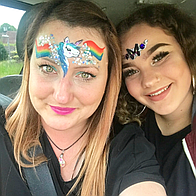Over the Rainbow Face Painting and Glitter Children Entertainment
