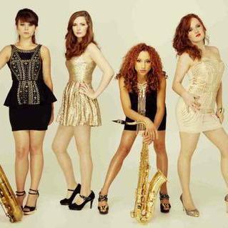 Female Saxophone Quartet String Quartet