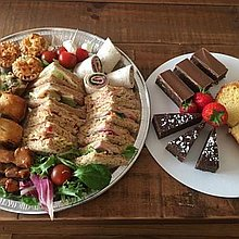 By Victoria cakes and catering Afternoon Tea Catering