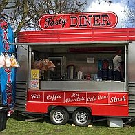 JW catering Burger Van