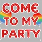 Come To My Party Balloon Twister