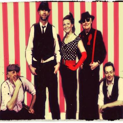 Fifilaroux & the prohibition band Vintage Band