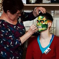 Brushstrokes Bodyart Face Painter