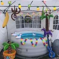 West Coast Hot Tub Hire Bouncy Castle