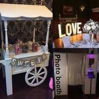 Engaging Event Sweets and Candies Cart