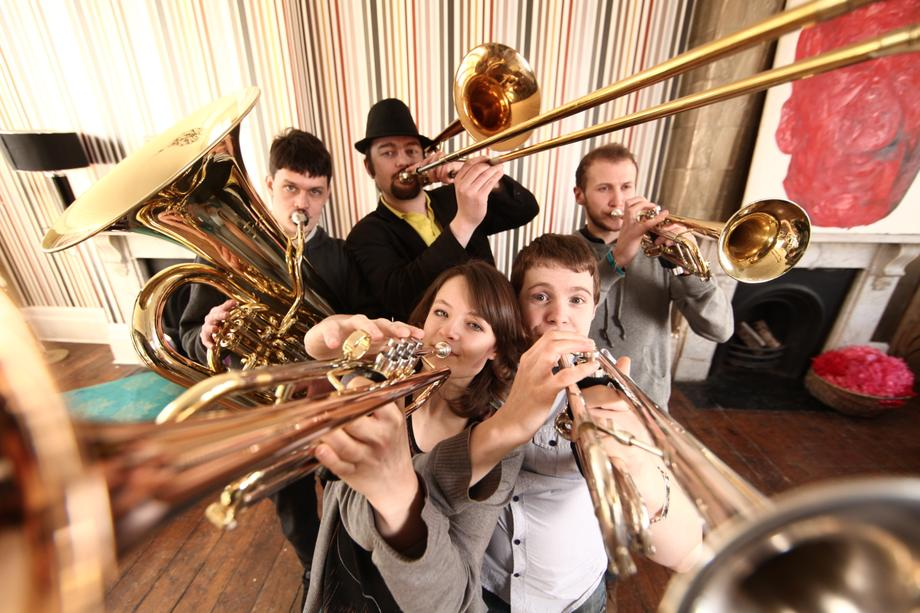 Hosen Brass Band - Live music band Ensemble World Music Band  - London - Greater London photo