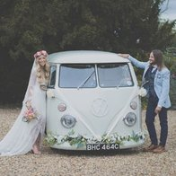 The White Van Wedding Company Transport