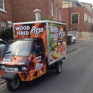 Bushman wood fired pizza Pizza Van