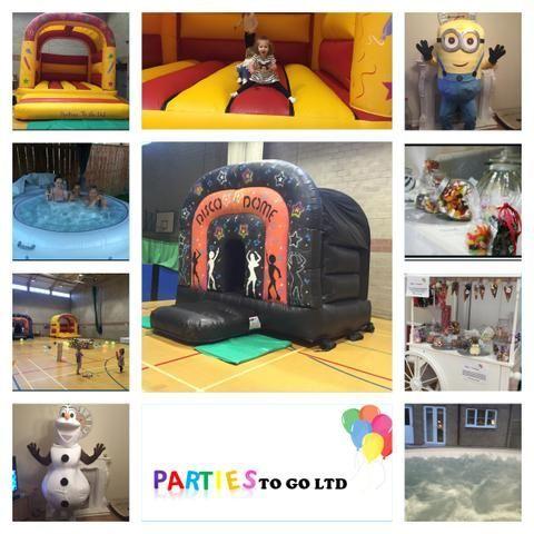 Parties To Go Ltd Bouncy Castle