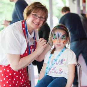 Powwow Face Painting - Children Entertainment , Shropshire,  Balloon Twister, Shropshire Face Painter, Shropshire