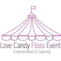 Love Candy Floss Sweets and Candies Cart