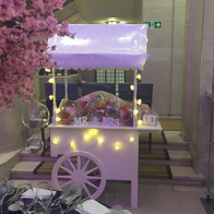 Dottys Sweets Sweets and Candies Cart