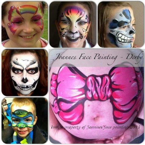 Joanne's Face Painting - Derby - Children Entertainment , Derbyshire,  Face Painter, Derbyshire