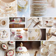 Duchess Vintage China Hire Catering