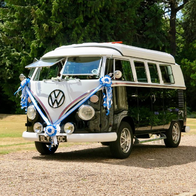 VW Black Betty Wedding Hire Campervan Transport