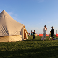 Activity Delivered Bell Tent