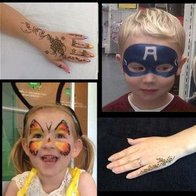 Julie Hartlepool Face Painter Children Entertainment