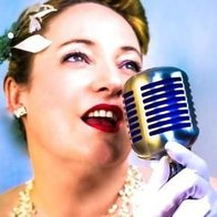 The Lady Sings Vintage Singer