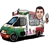 Raffaele's Ice Creams Ice Cream Cart