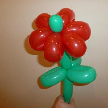 Balloon Modelling Man Children's Magician