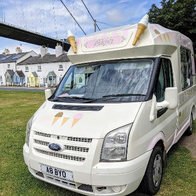 Abbyo's Ice Cream Van Ice Cream Cart