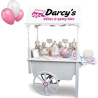 Darcy's Event & Party Hire Sweets and Candies Cart