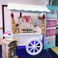 Poppy's Candy Store Sweets and Candies Cart