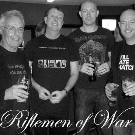 Riflemen of War - Live music band , Lancashire,  Rock Band, Lancashire Alternative Band, Lancashire