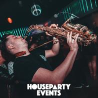 Neon Jukebox Saxophonist