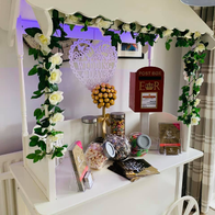Crackin Candy Events Sweets and Candies Cart