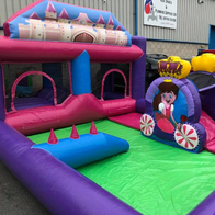SJ's Leisure Bouncy Castle
