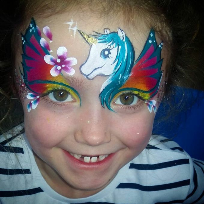 Geordie Face Painter - Children Entertainment Event Equipment  - Newcastle Upon Tyne - Tyne and Wear photo