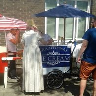 Midlands Icecream Trikes Candy Floss Machine