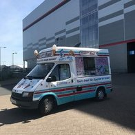 Super Ice's Cardiff Ice Cream Cart