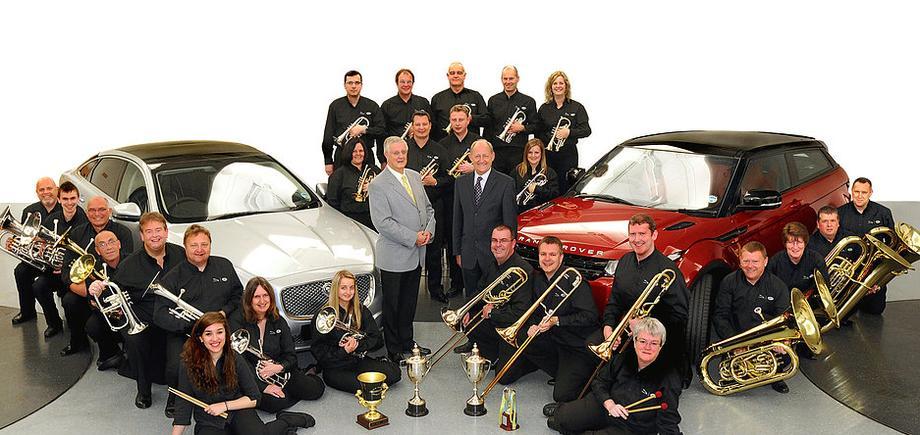 Jaguar Land Rover band - Br Ensemble Coventry , West Midlands