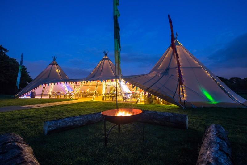 White Bison Tipi Hire - Marquee & Tent  - Reading - Berkshire photo