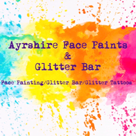 Ayrshire Face Paints And Glitter Bar Face Painter