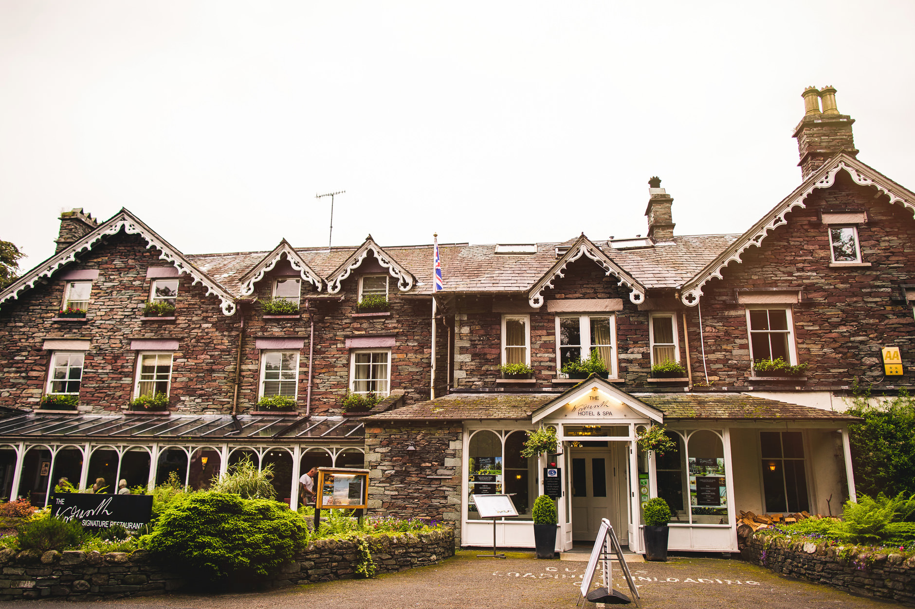 The Wordsworth Hotel and Spa for hire