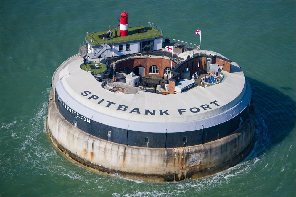Spitbank Fort for hire