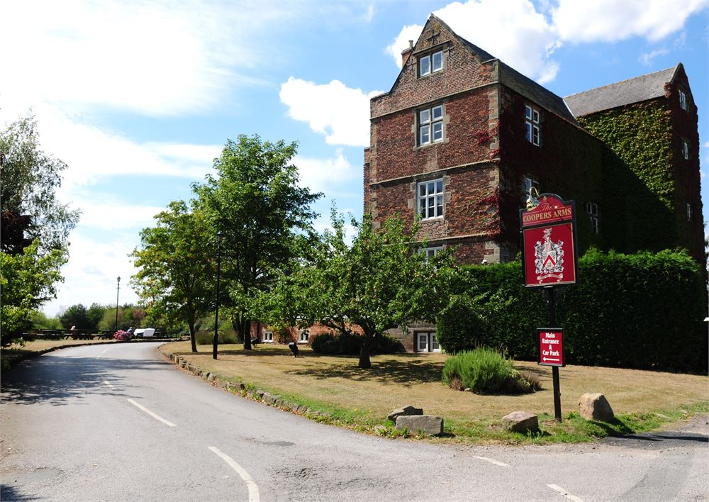 The Coopers Arms for hire